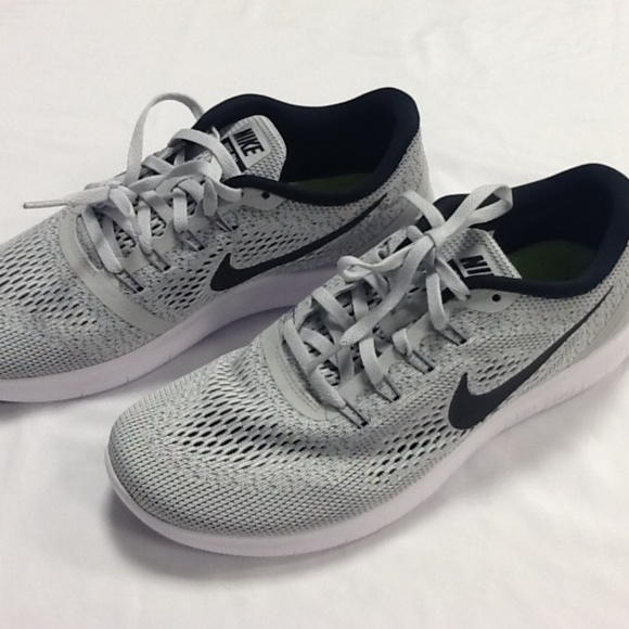 Nike Free RN 831509 101 White Black Grey OREO NWT